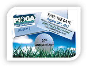 Proud Sponsor of PIOGA's 20th Anniversary Divot Diggers